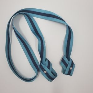 Lululemon Yoga Mat Straps Carrier Teal Stripe